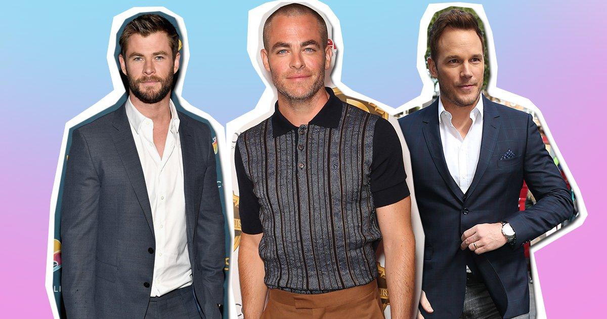Chris Pine really wants you to remember he is not Chris Pratt nor Chris Hemsworth nor Chris Evans