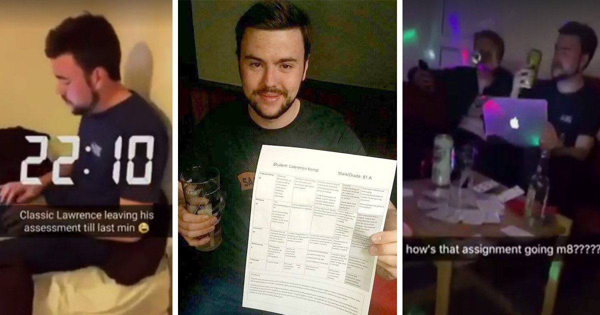 Students lied about finishing project at nightclub to deliberately mislead media