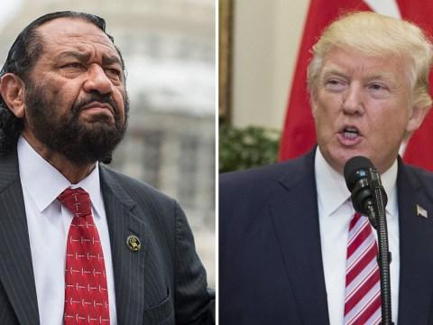 Al Green calls for impeachment of Donald Trump in US Congress