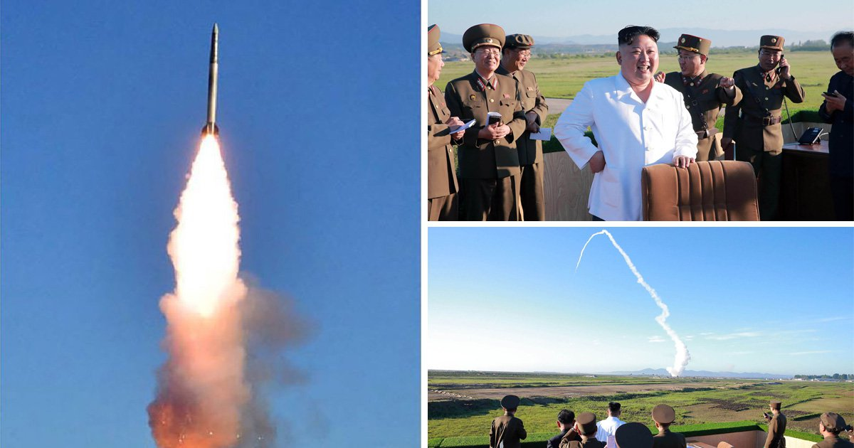 Kim Jong-un watches as North Korea tests new weapons
