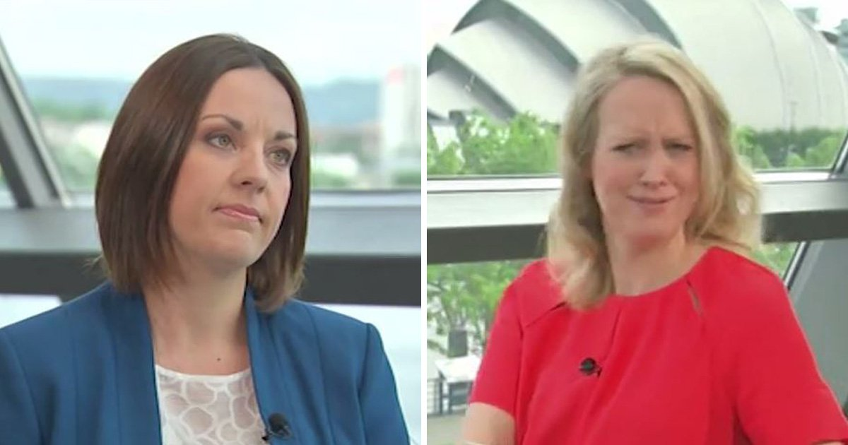 Sky News introduced a politician as 'leader of Scottish labia'