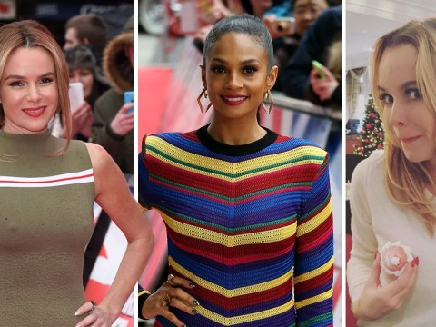 Amanda Holden's nipples steal the show every year on Britain's Got Talent, claims Alesha Dixon