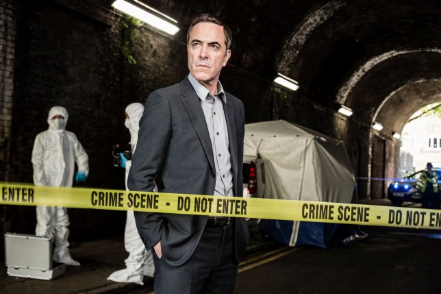 James Nesbitt (DI Harry Clayton) in Stan Lee's Lucky Man (SKY 1), episode two, series two.
