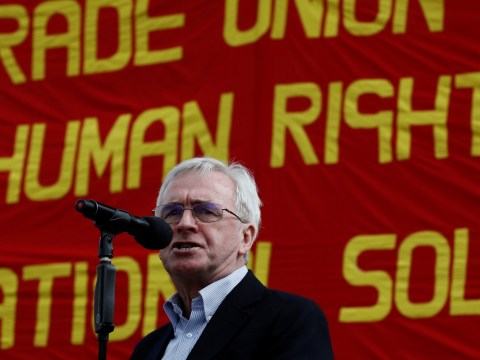 The picture that John McDonnell probably doesn't want you to see
