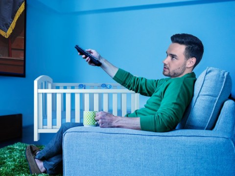 Forget the rock star life, new dad Liam Payne now spends his time watching daytime TV