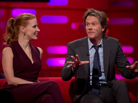Jessica Chastain and Kevin Bacon admit they've used their fame to cheekily dodge speeding tickets