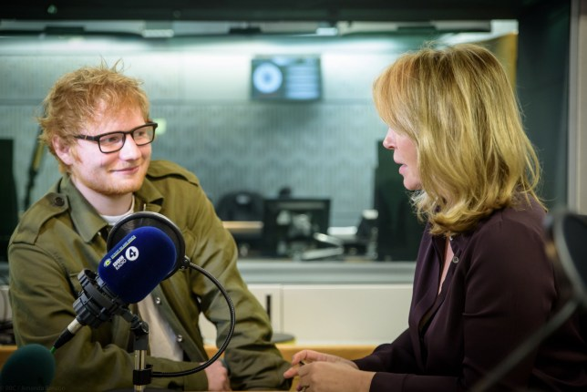 Ed Sheeran hired friends to keep him on the straight and