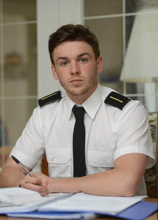 Sailor Gordon Yule forced out of dream job because of nut