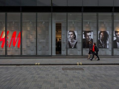 The UK's biggest H&M store has opened in London