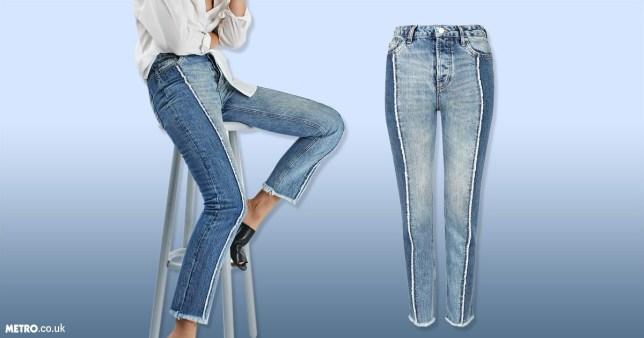 Most popular jeans on Pinterest