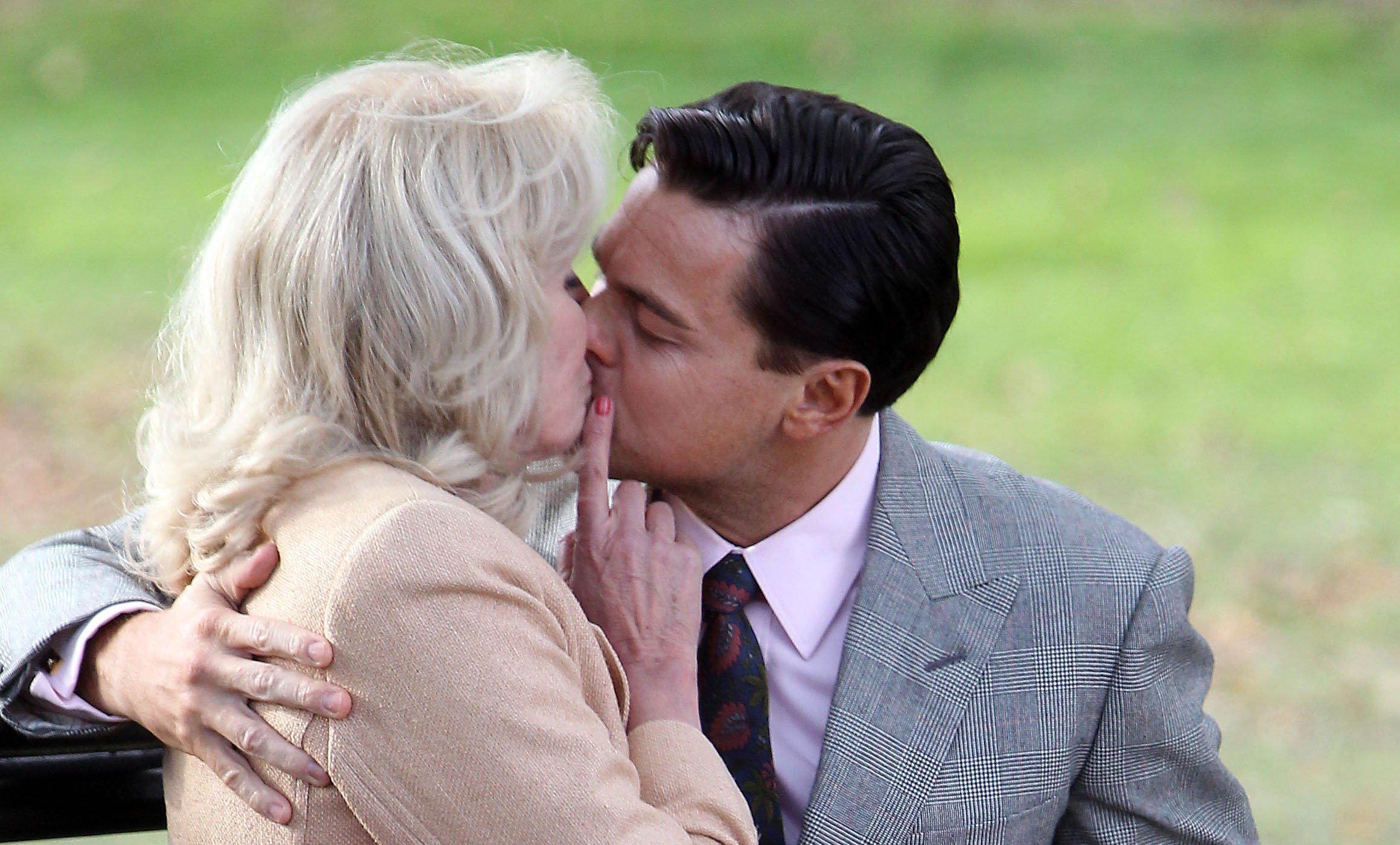 Joanna Lumley didn't enjoy snogging Wolf Of Wall Street co-star Leonardo DiCaprio: 'It's actually no fun kissing actors'