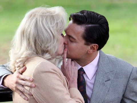 Joanna Lumley didn't enjoy snogging Wolf Of Wall Street co-star Leonardo DiCaprio: 'It's actually no fun kissing actors'