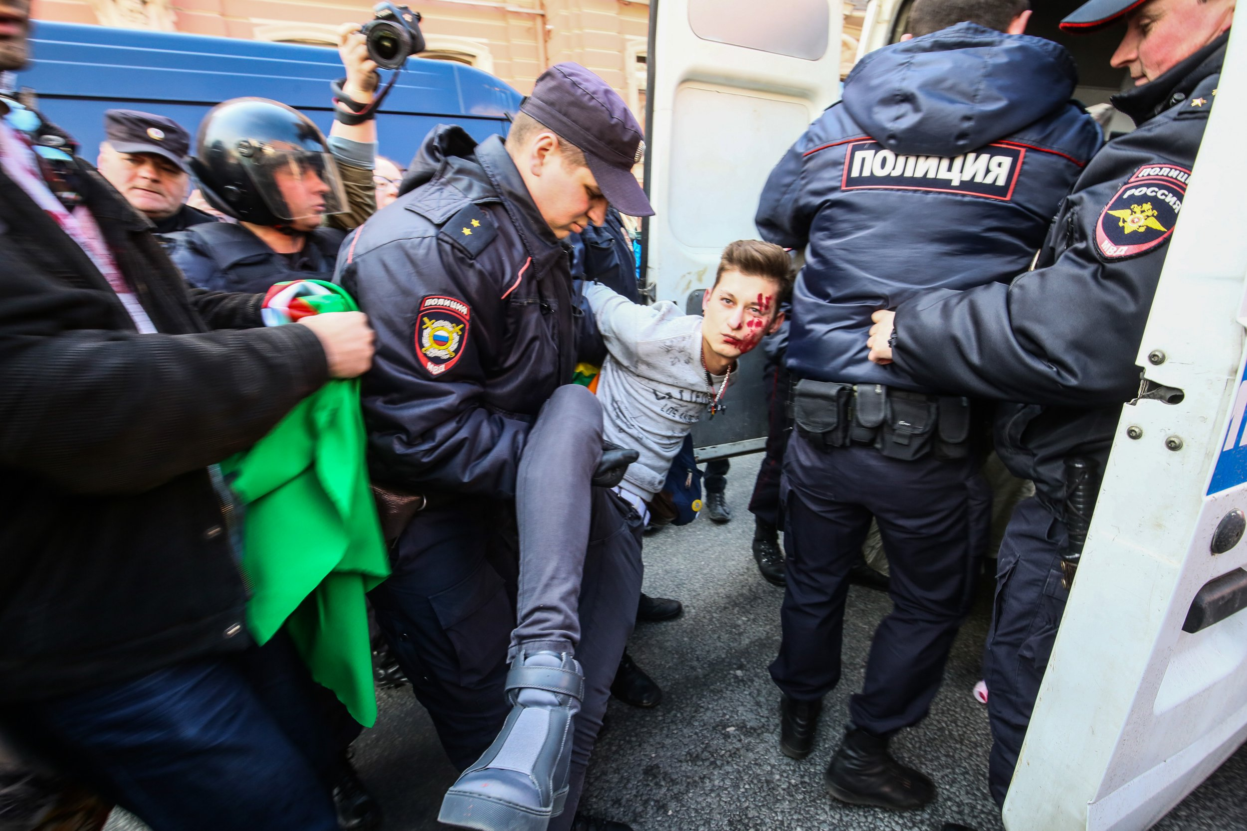 Over 40 gay men saved from Chechnya's homophobic 'purge'