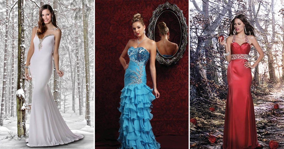 A Disney princess dress collection is here to enchant your prom night