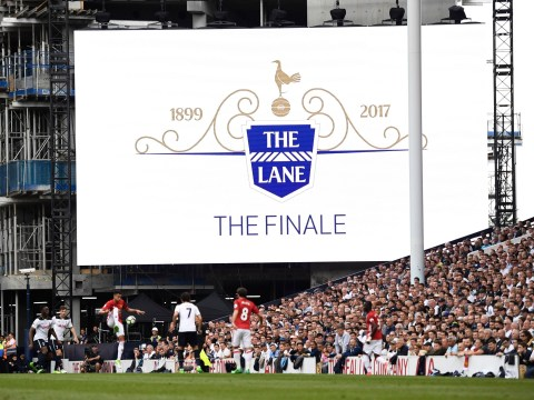 White Hart Lane farewell attended by former stars including Berbatov, Sheringham and Jennings