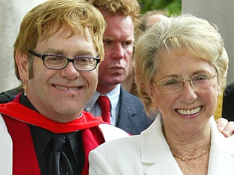 'So happy we are back in touch': Elton John reveals bitter nine-year feud with his mum is over in Twitter tribute