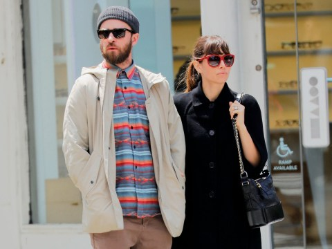 Loved up Justin Timberlake and Jessica Biel enjoy brunch after singer thanked wife for 'everything'