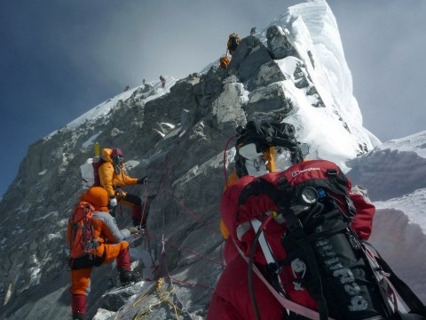 Mount Everest's death-defying Hillary Step has disappeared