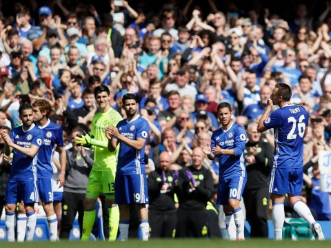 John Terry taken off after just 26 minutes by Antonio Conte in final Chelsea game