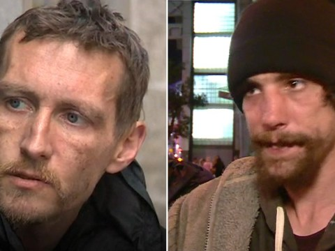 Pictured: The two homeless heroes who helped Manchester attack victims
