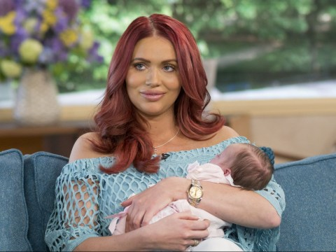 'I was distraught': Amy Childs has given away her dog after having her daughter Polly