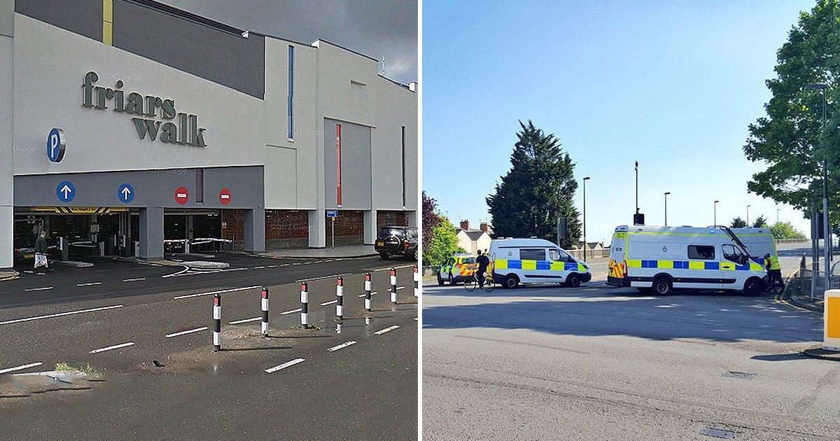 Newport city centre evacuated over reports of 'two suspicious items'