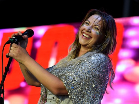 Charlotte Church announces pregnancy live on stage at Gay Pride