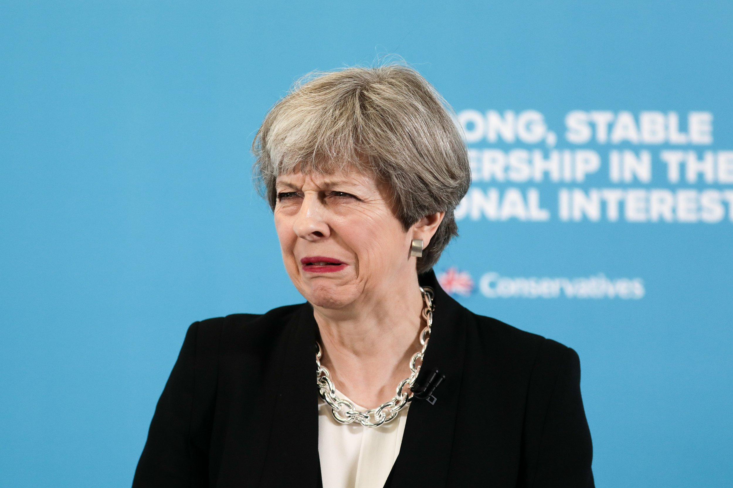 Anti-Theresa May song 'banned by radios' makes its way up the charts
