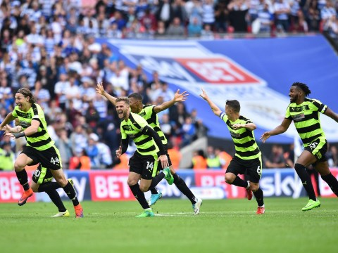 Huddersfield Town beat Reading on penalties to clinch Premier League promotion