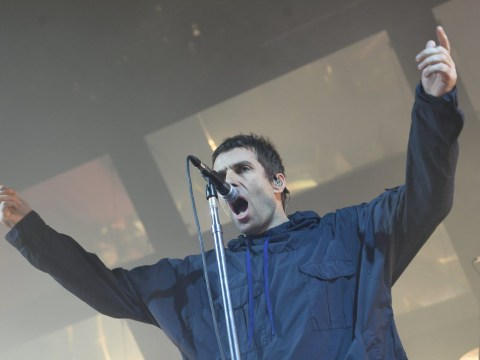Liam Gallagher says Oasis fan tried to snort his flaky skin at Glastonbury
