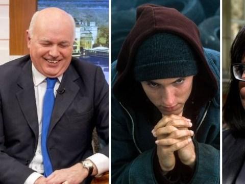 Iain Duncan Smith raps Eminem lyrics to diss Diane Abbott
