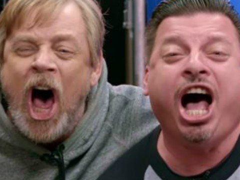 Watch as Mark Hamill hilariously pranks Stars Wars fans who were asked to 'channel' their inner Luke Skywalker