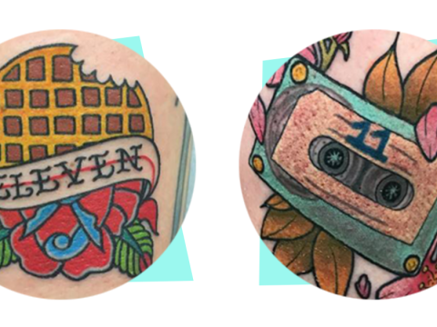 12 tattoos inspired by your favourite Netflix shows