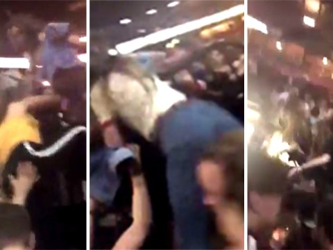 Terrifying video shows chaos and panic inside arena during Manchester attack