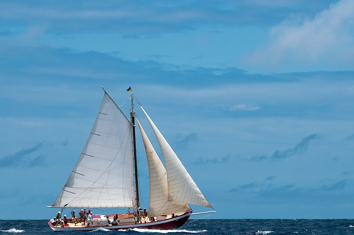 Sailing the Caribbean on Tradition (Picture: Anguilla Tourist Board/Tradition Sailing)