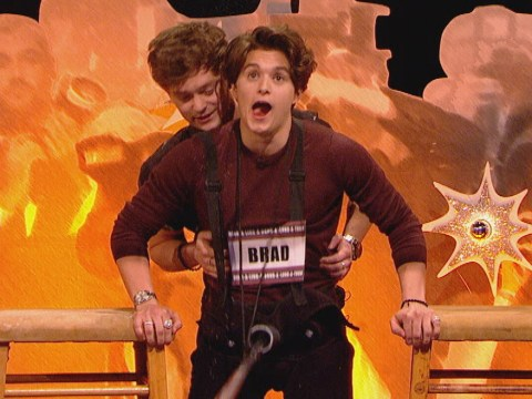 Watch The Vamps play this absolutely ridiculous Celebrity Juice game