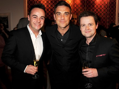 Robbie Williams offers advice to Ant McPartlin following his own battle with addiction
