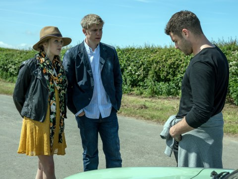 Emmerdale spoilers: Rebecca White and Robert Sugden discover the sex of their baby at a scan