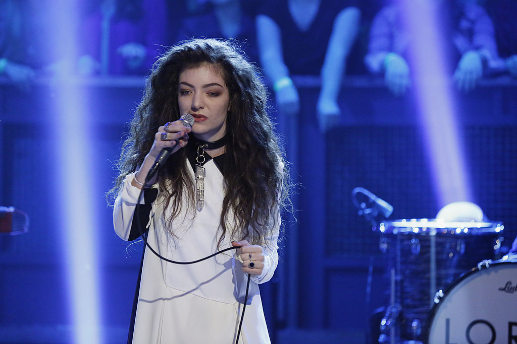 Lorde reveals she was worried about fans not liking her new sound on Melodrama
