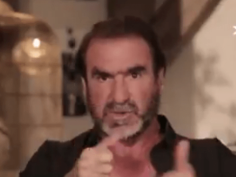 Eric Cantona tells Chelsea boss Antonio Conte not to run a team with his thumbs