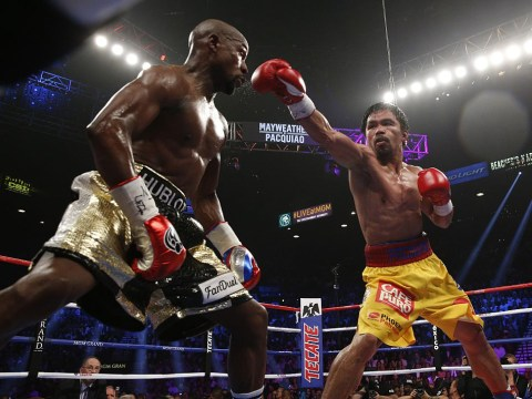 Manny Pacquiao open to Floyd Mayweather rematch once rival is done with Conor McGregor