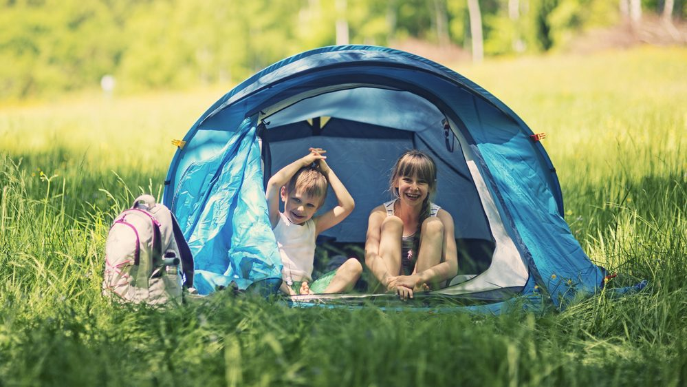 5 things you'll understand if you've ever been camping with small children