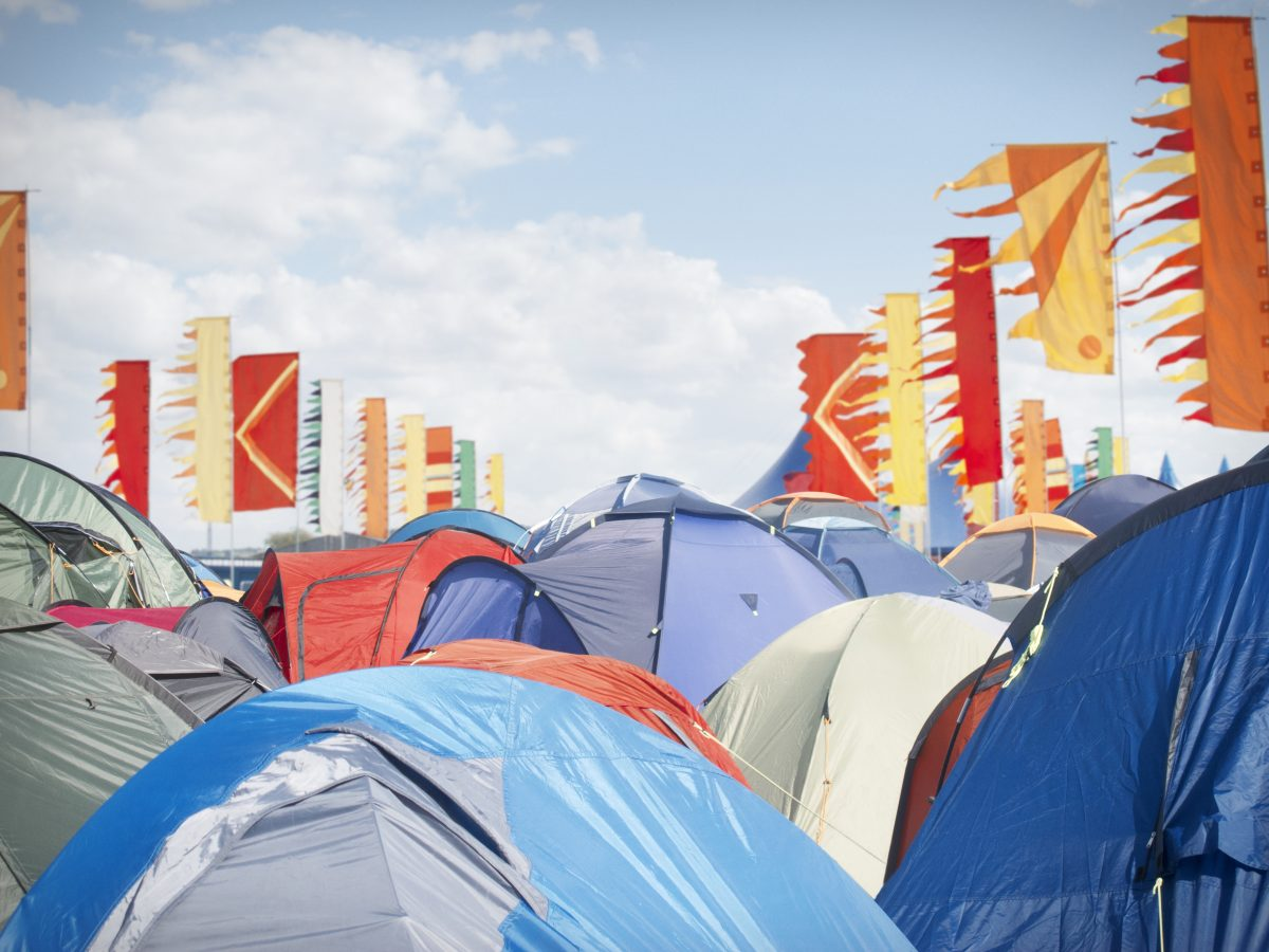 This tent-finding app will save you hours of wandering during festival season