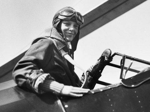 Why 80 years on Amelia Earhart is still a role model for young women