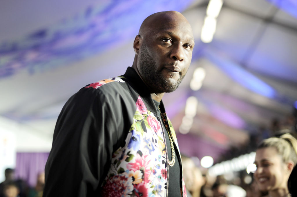 Lamar Odom was 'dehydrated' when he collapsed at Los Angeles nightclub and is 'doing great'
