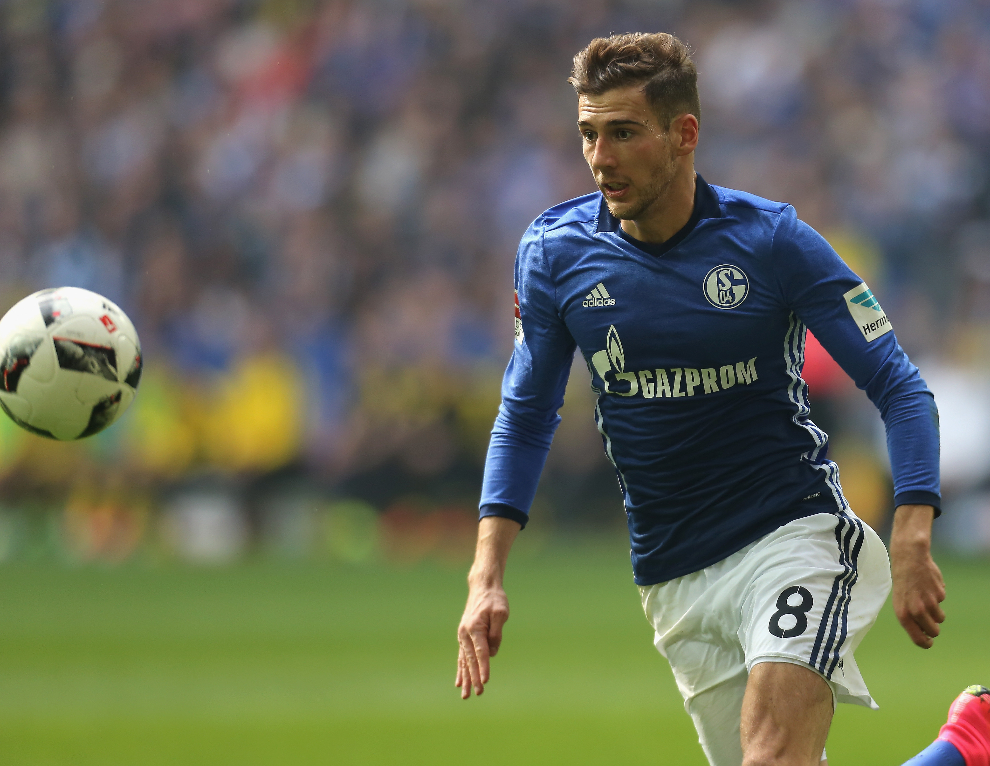 Arsenal target Leon Goretzka plays down transfer rumours