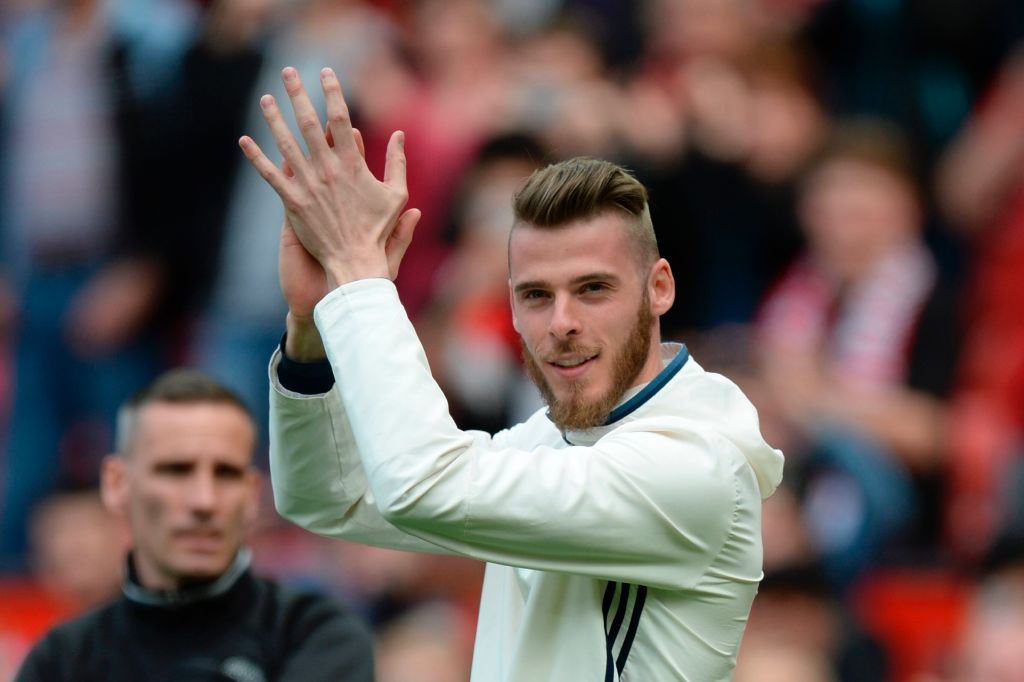 Real Madrid president Florentino Perez responds to David De Gea transfer links