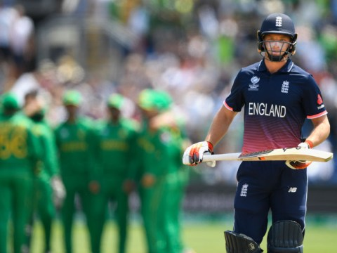 England crash out of Champions Trophy in shock eight-wicket mauling by Pakistan