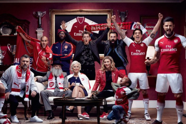69b949526 Alexis Sanchez and Mesut Ozil s absence from Arsenal kit launch photo  explained