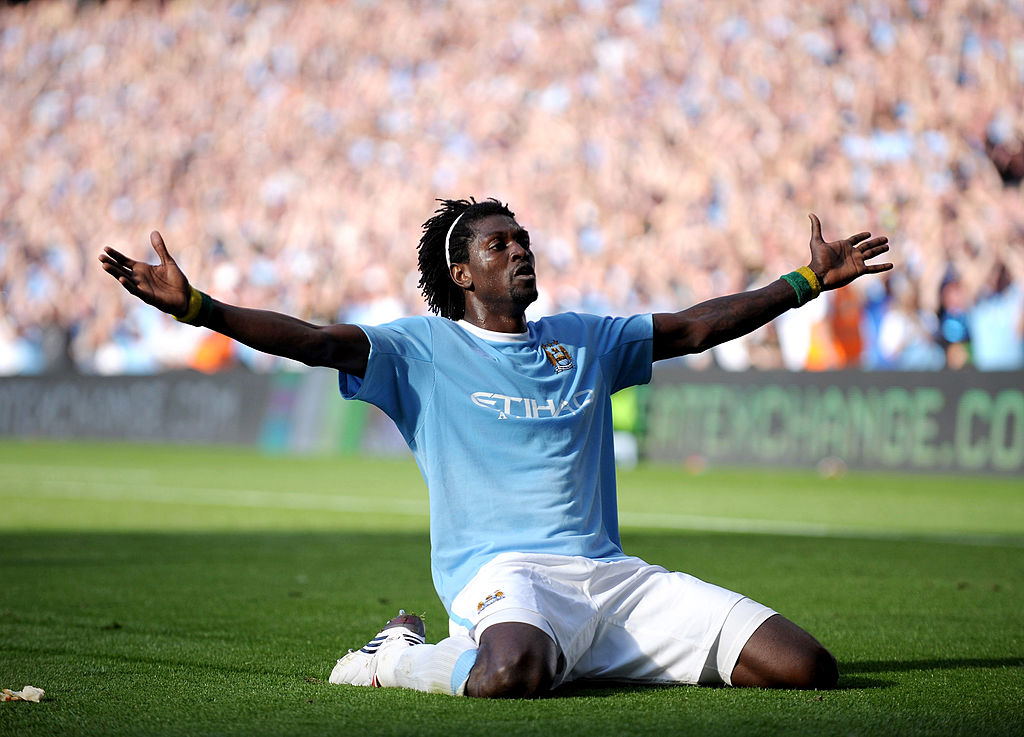 Emmanuel Adebayor reveals the worst decision of his career in England was joining Crystal Palace